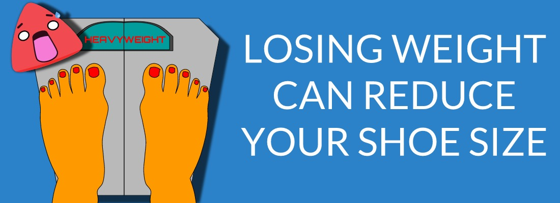 Losing Weight Can Help Reduce Shoe Size